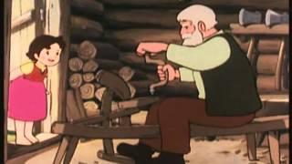 HEIDI 02-le chalet de grand-père width=