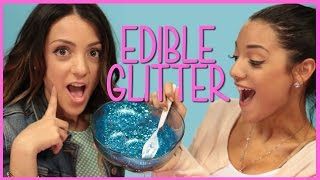 NikiAndGabiBeauty Edible Glitter?! | Niki and Gabi DIY or Di-Don't