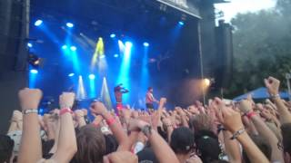 Hopsin live I Just Can't in Switzerland
