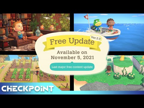 Animal Crossing: New Horizons Receives Huge New Update | Checkpoint