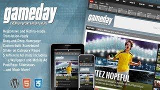 Gameday - Wordpress Sports Media Theme v2.4