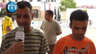 اعتصام المكفوفين أمام مقر ولاية قفصة : تصعيد بالدخول في اضراب جوع