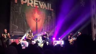 I Prevail Blank Space cover Kansas City 9•27•16