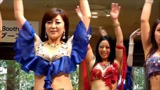 美しいお姉様達のベリーダンス(Belly dance) KOKOKA
