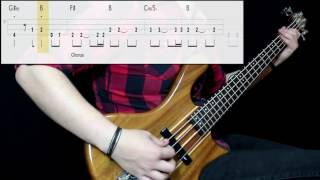 Smash Mouth - All Star (Bass Cover) (Play Along Tabs In Video)