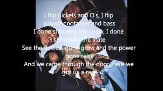 Asap Mob- Hella Hoes(A$AP MOB) lyric video