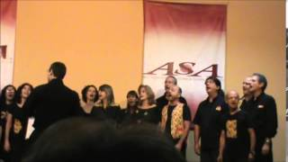 Coro da Ladeira - RJ - Cicatrizes no 19  ASA 2014