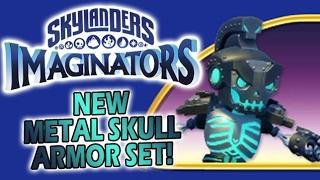 METAL SKULL ARMOR SET Showcase! - Skylanders Imaginators