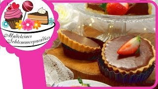 Schokoladen Tartelettes I Schokoladenküchlein I Schokoladensünde I Blitzrezept zum Valentinstag