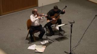 NICCOLO PAGANINI   Adagio en La majeur op 2