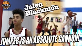 Top Ranked 8th Grader PG Jalen Blackmon Jumper IS AN ABSOLUTE CANNON
