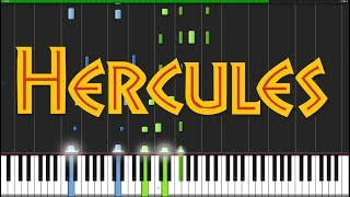 Go The Distance - Hercules [Piano Tutorial] (Synthesia) // Popular Piano Improv
