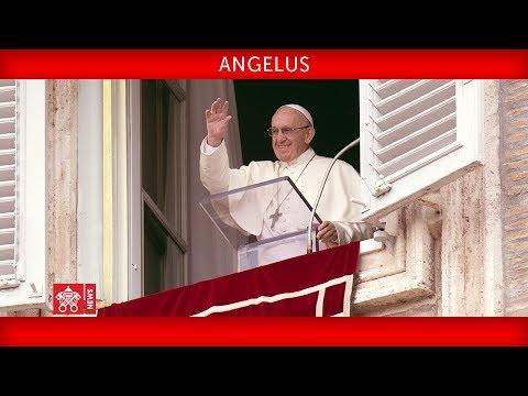 """Video: PAPA FRANCESCO NELL'ANGELUS DI OGGI: """"NON LASCIAMOCI TRASCINARE DALL'INSENSIBILITÀ EGOISTICA"""". OGGI SALVATI MINORI IN UN BARCHINO"""