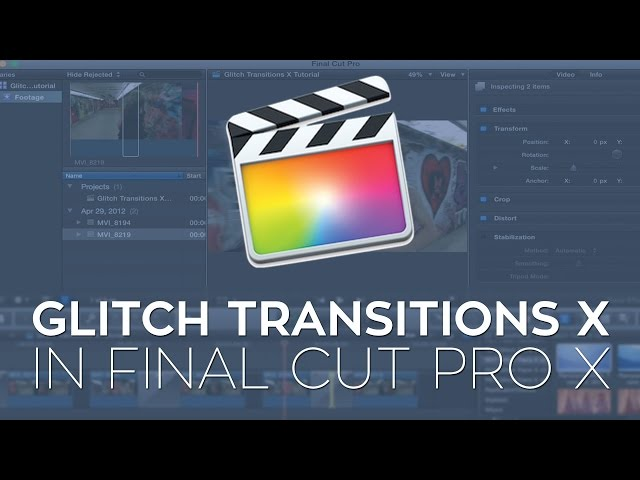 Use Matte Transitions to Stylize Your Edit in Apple Final Cut Pro X