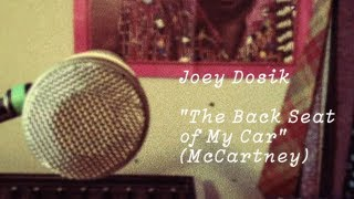 JOEY DOSIK /// The Back Seat Of My Car