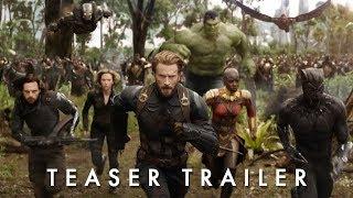 Teaser Trailer - Vingadores: Guerra Infinita, 26 de abril de 2018 nos cinemas.