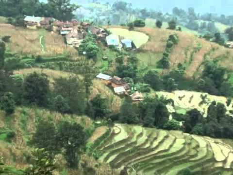 part4. Duradanda, Lamjung, main Habitat of Dura people.