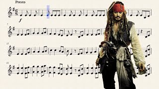 He's a Pirate for Bb Trumpet
