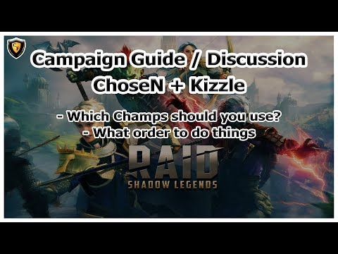RAID Shadow Legends | Campaign Guide / Discussion | ft. Kizzle