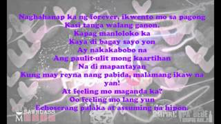 Pabebe Song - Jr.Crown feat. Crown One with lyrics
