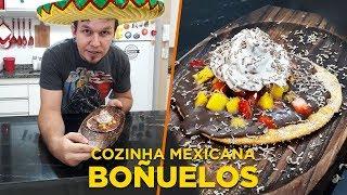 Boñuelos (doce mexicano - Cozinha Mexicana - OCSQN! #142