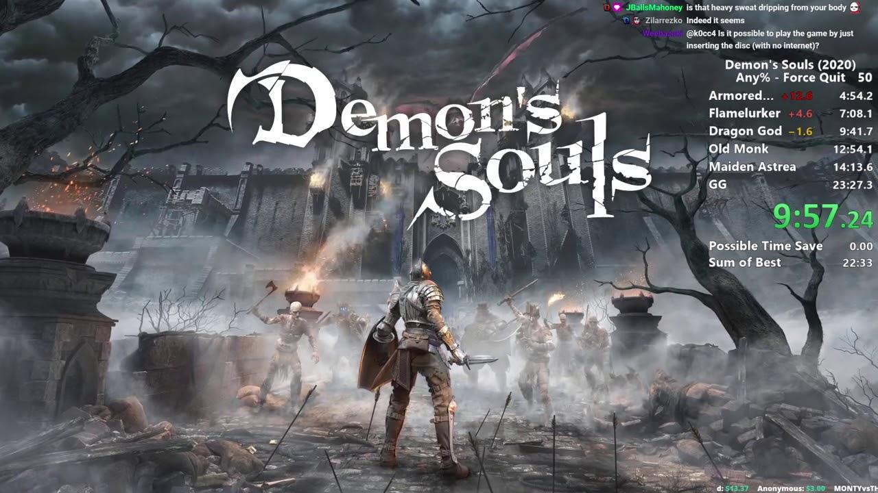 Distortion2 - Demon's Souls Remake - Any% Speedrun in 17:18 IGT