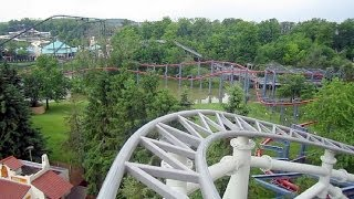 Wonder Mountain's Guardian front seat onride HD POV Canada's Wonderland