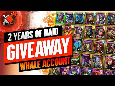 2 YEARS LATER | WHALE ACCOUNT + Gems Giveaway | Channel Update | RAID: Shadow Legends
