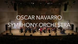 """OSCAR NAVARRO SYMPHONY ORCHESTRA"" - TRAILER"