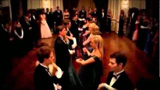 The Vampire Diaries 3x14 - Damon dances with Elena; Klaus dances with Caroline