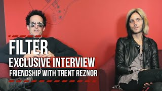 Loudwire: Filter's Richard Patrick on His Friendship With Trent Reznor
