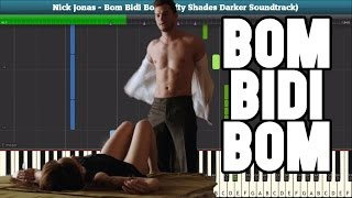 Bom Bidi Bom Piano Tutorial - Nick Jonas (Fifty Shades Darker Soundtrack)