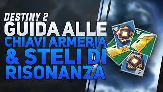 GUIDA ALLE CHIAVI DELL'ARMERIA DI RASPUTIN E AGLI STELI DI RISONANZA | DESTINY 2