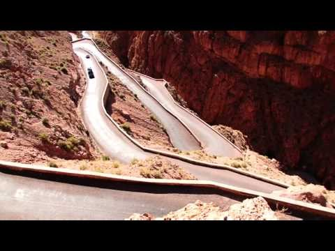 Crazyest roads in the World – Morocco – Dades Road