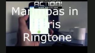 MARIMBAS IN PARIS RINGTONE FOR IPHONE .M4R  [2015] (FREE)