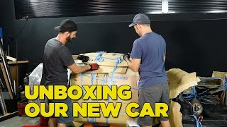 Unboxing Our New Car