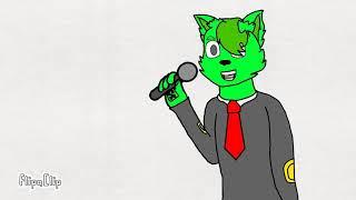 Creeper The Green Cat