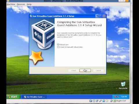 FIle sharing in virtualbox
