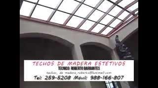 Techos de Madera en tragaluz, Lima   Perú