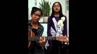 Gia and Jireh Gonzales - 'Sing in the rain' by Moriah Peters (Cover)