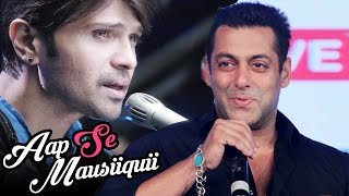 Salman Khan PROMOTES Himesh Reshammiya's NEW Album 'Aap Se Mausiiquii' width=