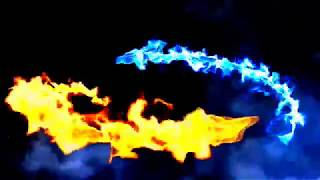 Dragon fire intro no text
