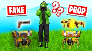WHICH CHEST Is The REAL ONE?! (Fortnite Chest Prop Hunt)
