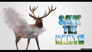 Speed art Photoshop | Save the earth | Didou Designer