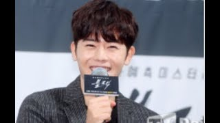 "[TD영상] '블랙' 김동준 ""송승헌, OST에 아이유 추천…좋은 피드백 있길"" (black press conference)"