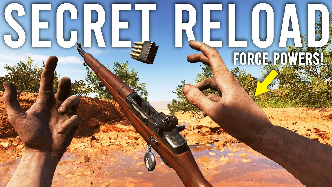 jackfrags - Battlefield 5 Secret Reload - M1 Garand Telekinesis