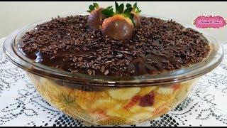 miniatura ESCONDIDINHO DE SALADA DE FRUTAS com CozinhandoComNane :)