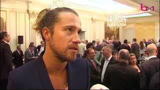 Julien Doré à la cérémonie des Gants d'Or