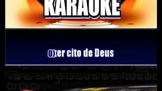 Karaokê  Adhemar de Campos Exercito de Deus (Gospel)