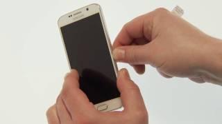 Samsung Galaxy S6 / S6 edge: SIM Karte einlegen und entnehmen
